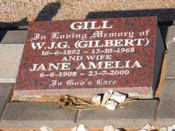 Jane Amelia <I>Liebich</I> Gill