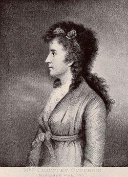 Mary Ann <I>Wolcott</I> Goodrich