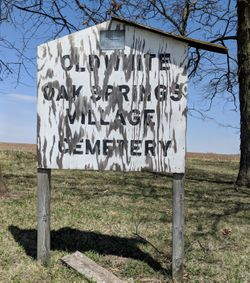 Old White Oak Springs Village Cemetery