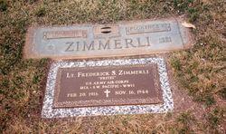"2Lt Frederick Stanley ""Fritzi"" Zimmerli"