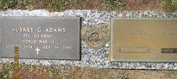 """Aubrey Gordon """"Tex"""" Adams"""