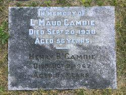Henry Babington Cambie