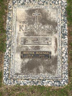 Bertha <I>Busenius</I> Klinker