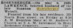 Lawrence Rosenberger