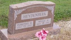 Willis A. Heydenberk