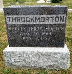 Wesley Throckmorton, Jr