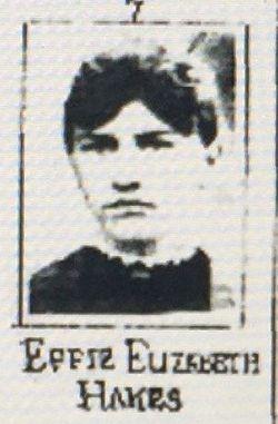 Effie Elizabeth Hakes