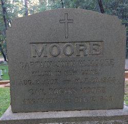 Capt John W Moore