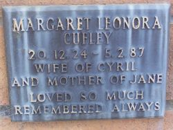 Margaret Leonora Cufley