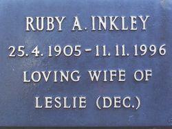 Ruby A. Inkley
