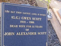 """Gwen """"G.G."""" Scott"""