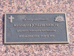 "Kenneth Joseph ""KJ"" Arbon"