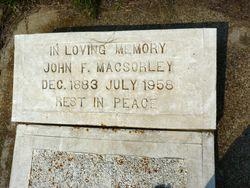 John F. MacSorley