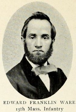 Pvt Edward Franklin Ware