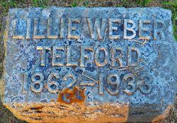 Lillie M. <I>Weber</I> Telford