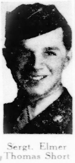 Sgt Elmer Thomas Short