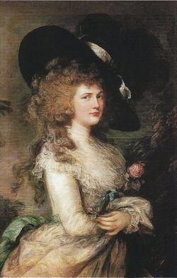 Georgiana <I>Spencer</I> Cavendish