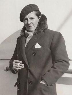 "Marion Barbara ""Joe"" Carstairs"