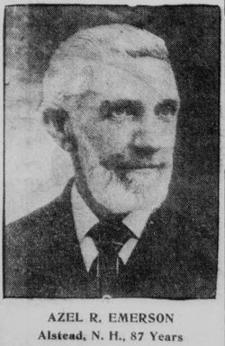 Azel Richards Emerson