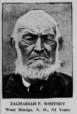 Zachariah F. Whitney