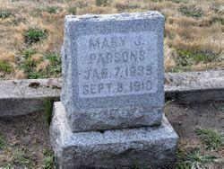 Mary Jane <I>Mercer</I> Parsons