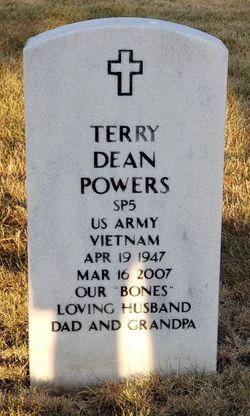"Terry Dean ""Bones"" Powers"