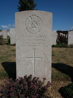 Sapper George Henry Waters