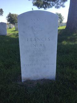 Frances Maria <I>Neri</I> Heiser
