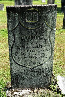 Caroline <I>Powell</I> Bolcum