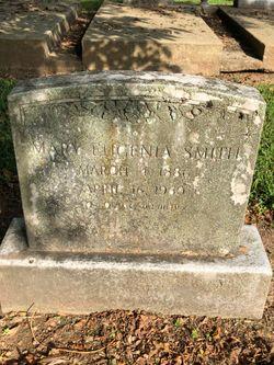 """Mary Eugenia """"Genia"""" <I>Hogan</I> Smith"""