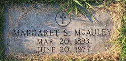 Margaret May <I>Showalter</I> McAuley