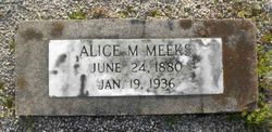 Alice M Meeks