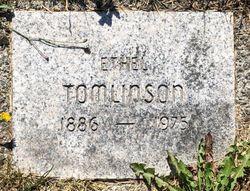 Ethel <I>Caunt</I> Tomlinson