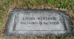 Emma <I>Browning</I> Bertram