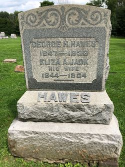 Eliza Ann <I>Jack</I> Hawes