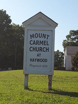 Mount Carmel Baptist Church Cemetery