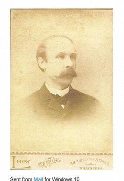 Rev Amos Augustus Kiehle