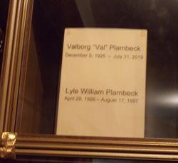 Lyle William Plambeck