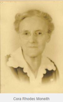 Cora Lillian <I>Rhodes</I> Monteith