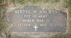 Bertyl W Anders