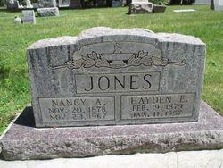 Nancy Ann <I>Hill</I> Jones