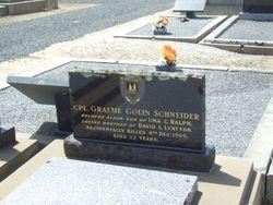 CPL Graeme Colin Schneider
