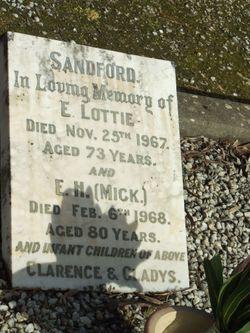 E Hamick Sandford