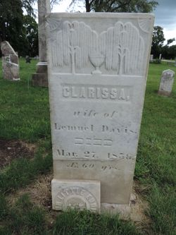 Clarissa <I>Denney</I> Davis