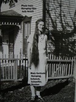 Mary Gertrude <I>Rumping</I> Riordan