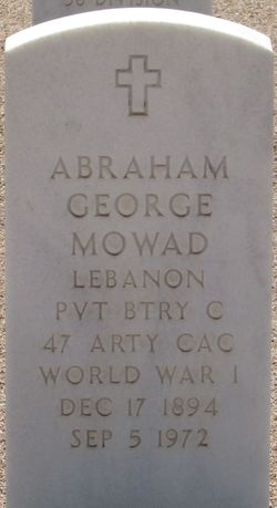 Abraham George Mowad