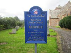 Bedrule Churchyard