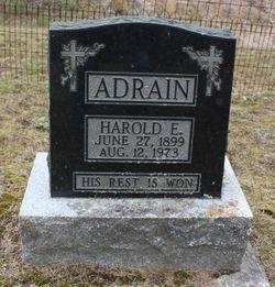 Harold Edmund Adrain