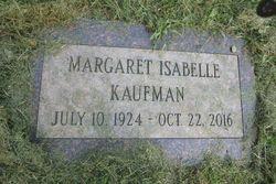 Margaret Isabel Kaufman