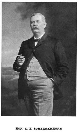 """Edgar Bachus """"Ed"""" Schermerhorn"""